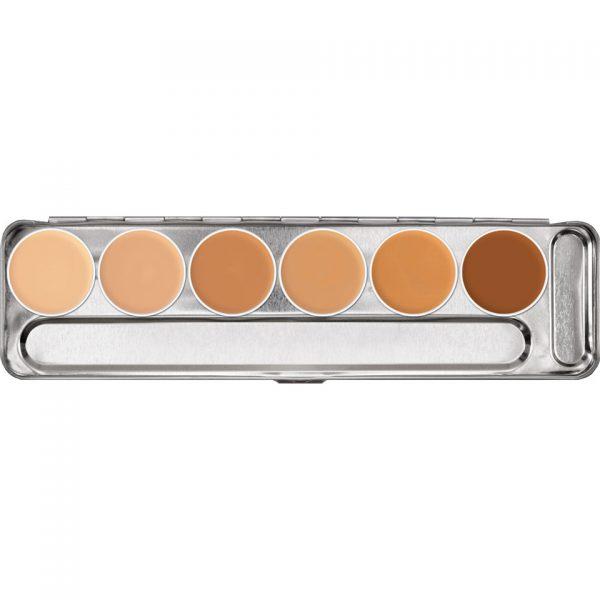 Dermacolor-Cream-6-Col-Palette