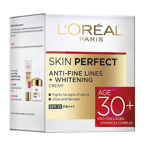 loreal Paris Skin Perfect 30+ Anti-Fine Lines + Whitening Cream