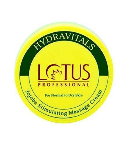 Lotus Professional Hydravitals Jojoba Stimulating Massage Cream,250gm