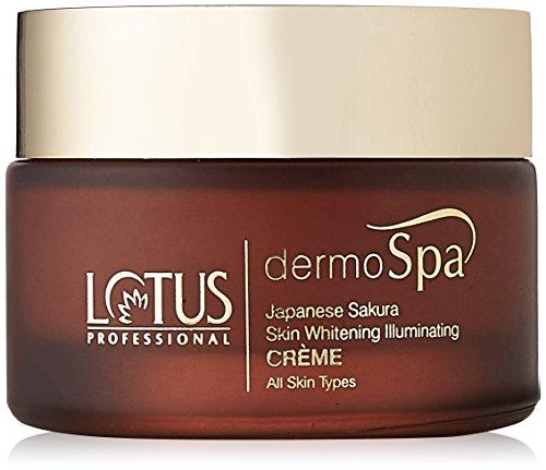 Lotus Professional Dermo Spa Japanese Sakura Skin Whitening and Illuminating Day Creme with SPF20, 50g