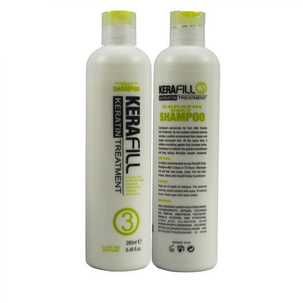 Kerafill Keratin Daily Shampoo No.3 (280 ml)