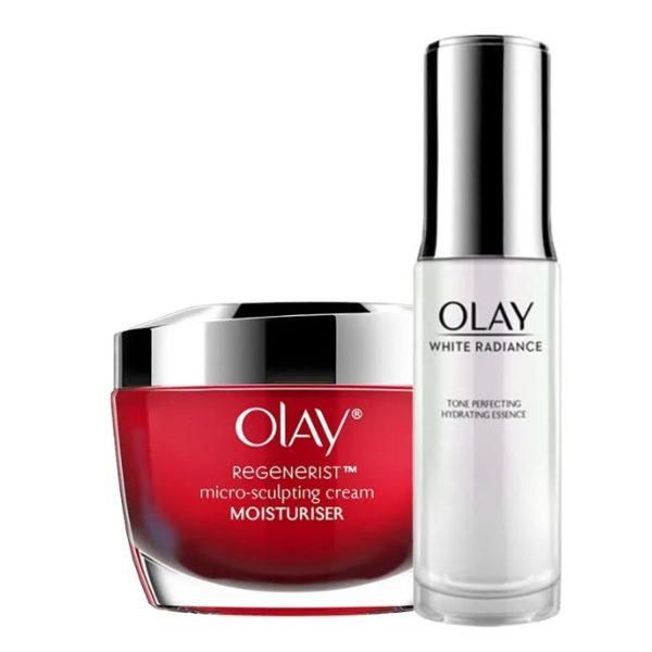 Olay Power Duo Kit (Day/Night Cream + Serum)