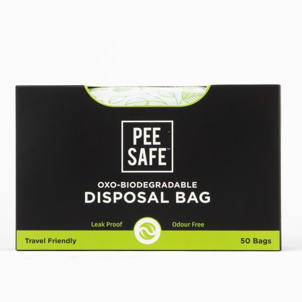 Pee Safe Oxo - Biodegradable Disposable Bags (Pack of 50 Bags)