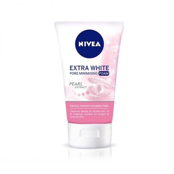Nivea Extra White Foam Wash 100g