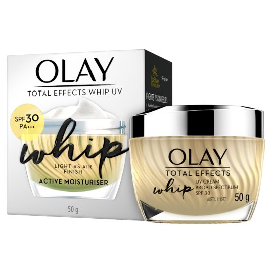 Olay Total Effects Whip UV Whip Active Moisturiser SPF 30 PA+++ 50g