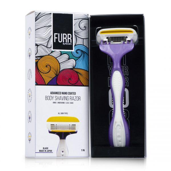 Furr by Pee Safe Body Shaving Razor - 1N