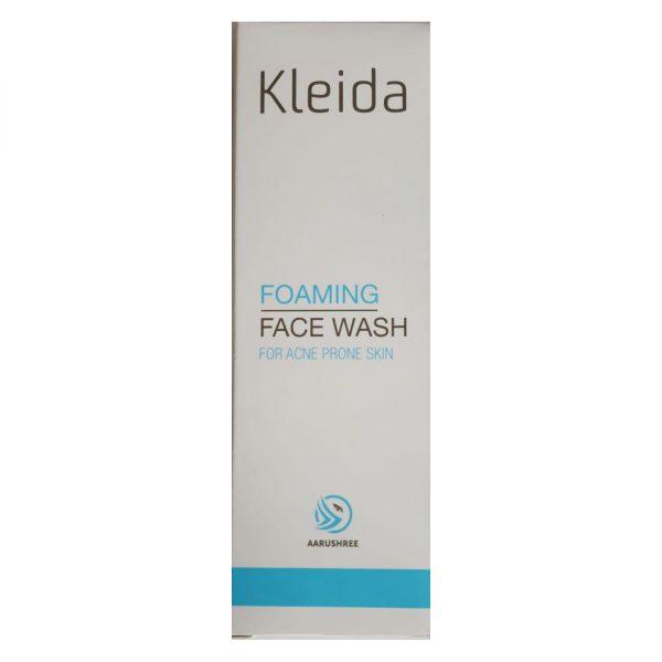 Kleida Foaming Face Wash