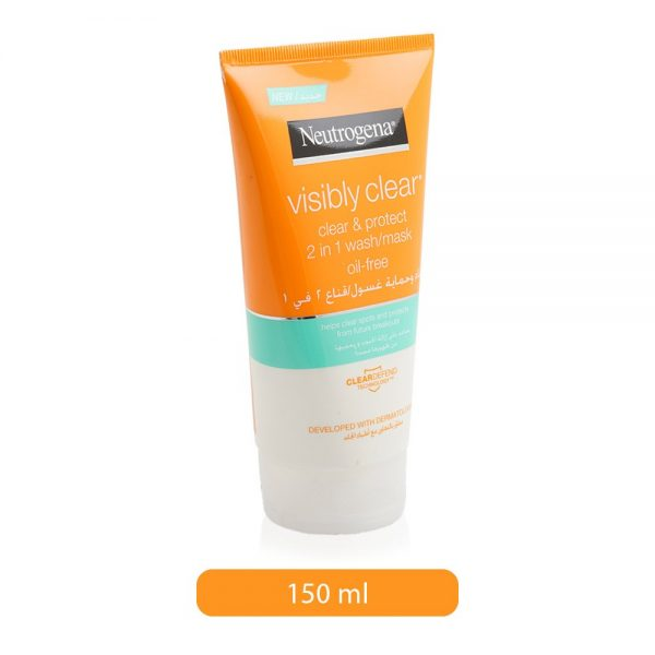 Neutrogena Visibly Clear Face Wash 150ml