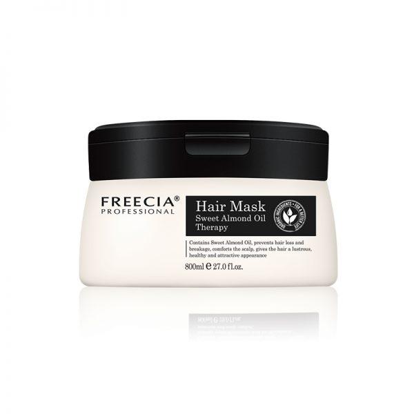 freecia professional hair mask sweet almond oil therapy 800ml
