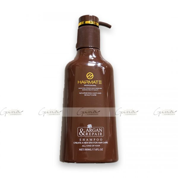 HAIRMATE Professional Argan & Repair Hair Shampoo-500ML