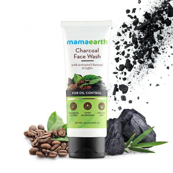 Charcoal Facewash for oil control, 100ml