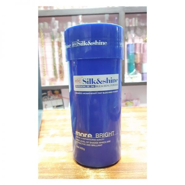 BTC Silk & Shine Bleaching Powder 400g