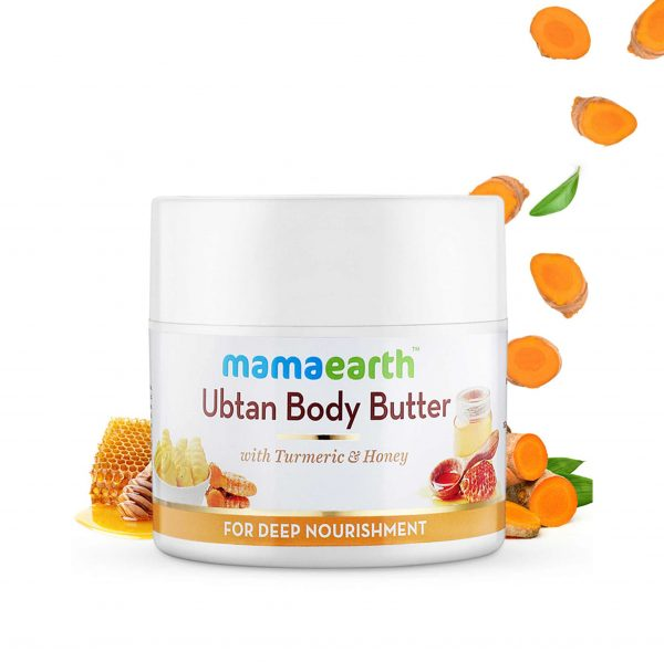 Ubtan Body Butter, For Dry Skin, With Turmeric & Honey, For Deep Nourishment – 200g